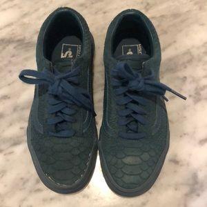 VANS Snakeskin Sneakers